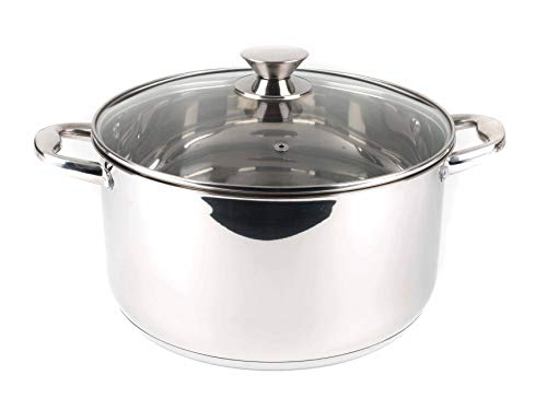 Russell Hobbs bw06576Classic Collection–Cacerola, 28cm, acero inoxidable, plata, 38x 29x 15cm