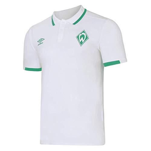 Werder Bremen Polo Shirt Poloshirt (S, weiß)