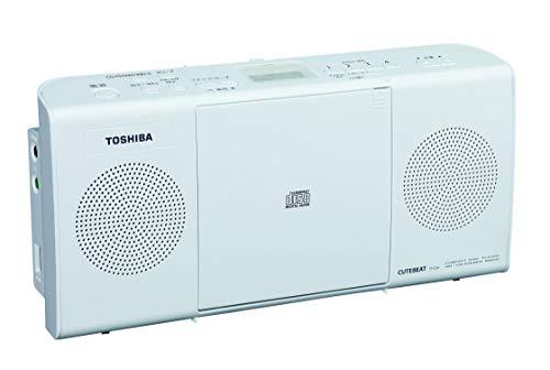東芝 CDラジオ TY-C24 (W) ホワイト