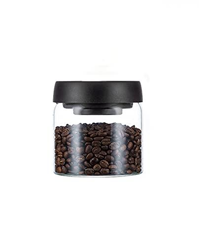 SaiDa Frascos de Vidrio,frascos de café en Grano,recipientes herméticos,frascos de Vidrio con Tapa,utilizados para conservar Alimentos,Leche en Polvo,azúcar,té,Frijoles,nueces.