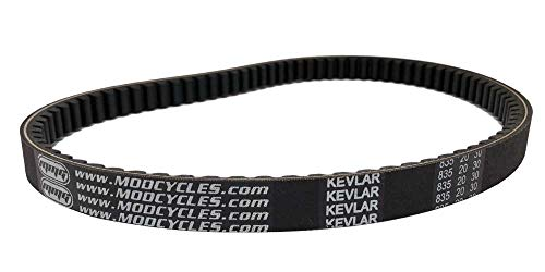 MMG V-Belt CVT Drive Belt Kevlar 835 20 30, Compatible with GY6 125cc 150cc Motorcycle Scooter