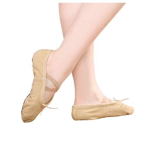 Oukeep Cross-Dance-Schuhe Für Erwachsene Für Erwachsene, Ballettschuhe Für Kinder Mit Weichen Sohlen, Katzentuchschuhe Für Katzen, Yoga-Tanzschuhe, Flache Turnschuhe