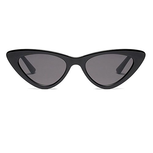 Hzjundasi Fashion Mod Chic Super Cat Eye Triangle Occhiali da sole Donna Vintage Retro Eyewear