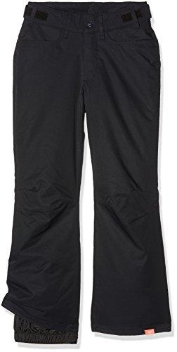 Roxy Backyard Girl PT Pantalones para Nieve, niñas, Negro (Anthracite Solid), 12/L