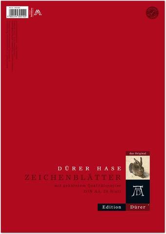 Edition Dürer Zeichenpapier, A3, 130 g/m², 20 Blatt