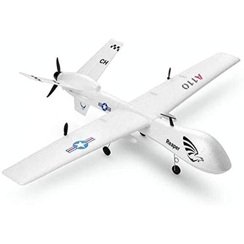 ZHANG Control Remoto para Niños Giroscopio Incorporado ala Fija Avión RC Control Remoto Avión Planeador De Empuje hacia Atrás Eléctrico