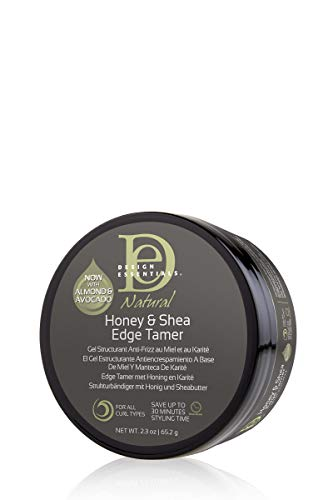 Design Essentials Natural Honey & Shea Edge Tamer Hair Gel, 2.3 Oz