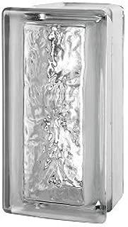 Quality Glass Block 4 x 8 x 4 Cortina Allbend Glass Block