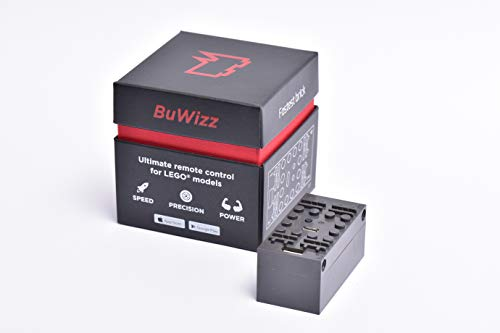 BuWizz 2.0 Ludicrous - remote control for Power Functions. Gives motors 2x more power. Better speed and performance, than other solutions. Bluetooth 100 feet range. Includes device and App