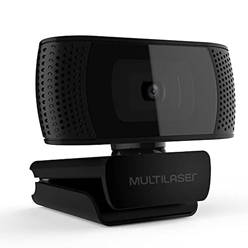 Webcam Full HD 1080P 4K Microfone USB Preto Multilaser - WC050