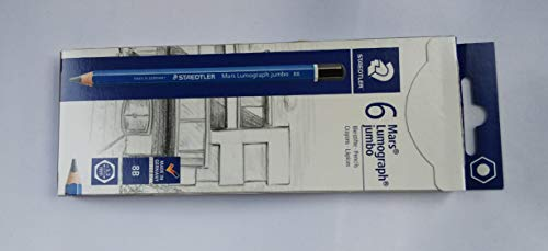 STAEDTLER Bleistift Mars Lumograph jumbo Härtegrad: 8B
