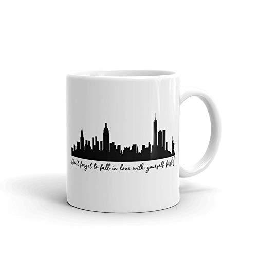NA Tazze in Ceramica Sex And The City Film Commedia Romantica Serie TV drammatica Citazione di Carrie-Bradshaw Don  T Dimenticare Innamorati Regali Tazze caffè tè 11 Once