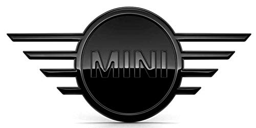 Origineel MINI embleem Piano Black voor + achter F55 F56 F57