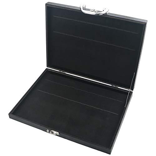 Juego de vajillas de oro 304 Set de cubiertos de acero inoxidable Set de horquilla Cuchara de cuchilla Cuchara fijados Cocina Vajilla Sildeware Set (Color : Black Box, Size : 1Set)