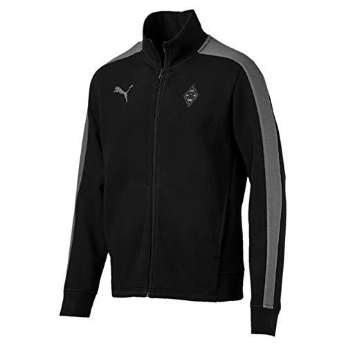 PUMA Herren BMG Triple Sweat Jacket Trainingsjacke, Black, S