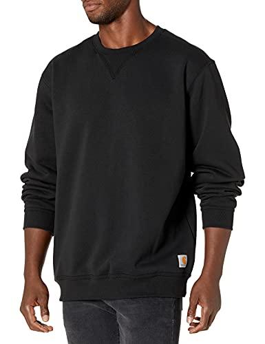 Carhartt Herren Midweight Crewneck Sweatshirt, Black, XL