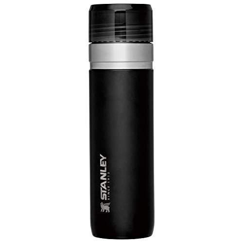 STANLEY(スタンレー) 新ロゴ ゴーシリーズ 真空ボトル 0.7L マットブラック 保温 保冷 直飲み 水筒 アウトドア 保証 09542-003 (日本正規品)