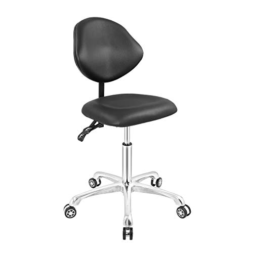 Nazalus Rolling Stool Drafting Chair Swivel Heavy Duty with Wheels for Home...