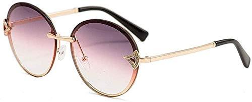 AQWESD Gafas polarizadas, Gafas de Sol con protección UV de Moda de Gama Alta para Mujer, Gafas de Sol de Playa de Viaje
