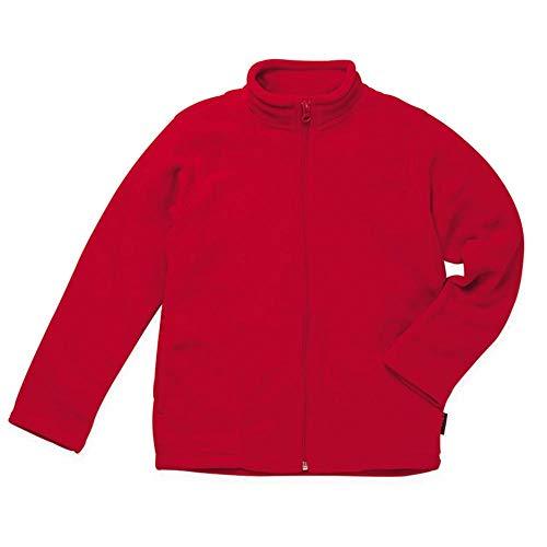 Stedman Active Fleecejacke für Kinder Farbe Scarlet Red Größe M(134/140)