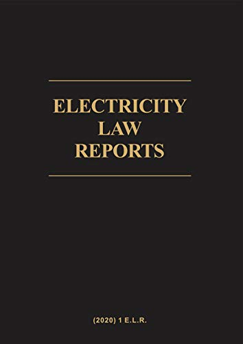 Electricity Law Reports (English Edition)
