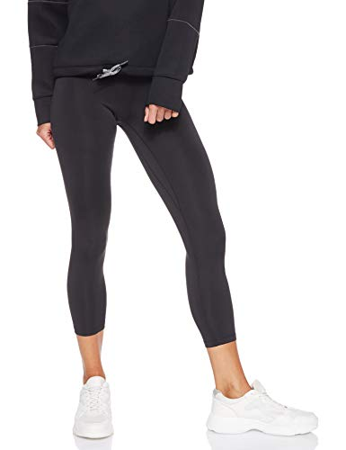 Nike Women's All-in Crop, Black/White, Small