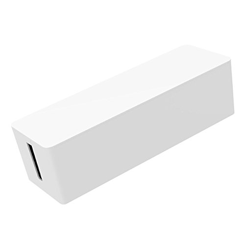 ORICO Caja de Cables 32.4 cm x9.7 cm x 9.3 cm,Caja organizadora de cables,Caja para Cables - Blanco