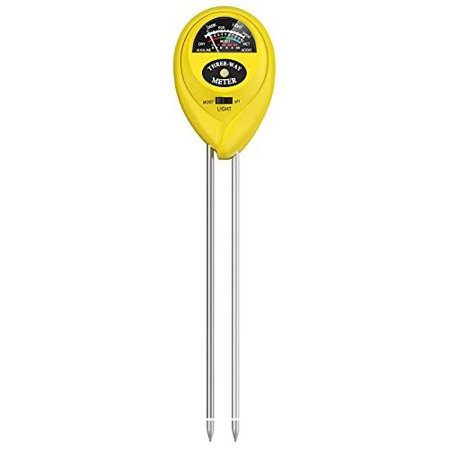 Atree Soil pH Meter, 3-in-1 Soil Tester Kits with...