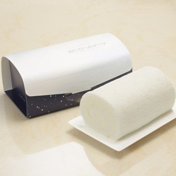 石屋製菓『白いロールケーキ』