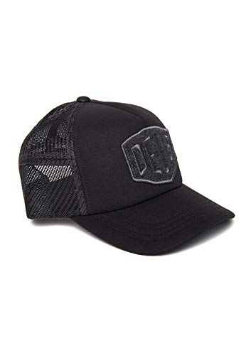 Deus Trucker Terry Shield Trucker DMW97996-CHA - Gorra, color gris oscuro