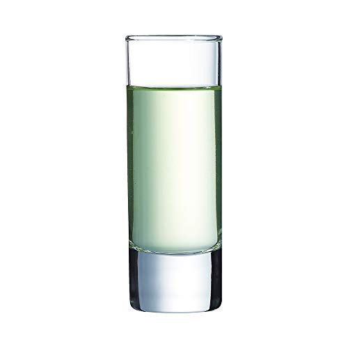 Arcoroc Vasos de chupito , 60 ml, Juego de 12