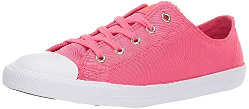 Converse Chuck Taylor All Star Dainty Zapatillas de caña Baja para Mujer, Rosa (Strawberry Jam/Turf Orange), 35 EU
