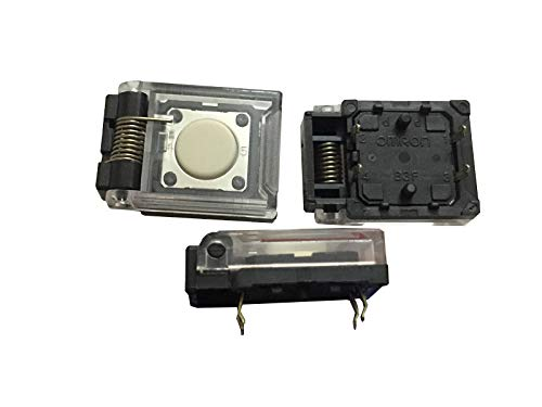 1 unids original japonés Omron B3F-8000 (N) interruptor táctil 12x12x4.3 con cubierta protectora 4 pies