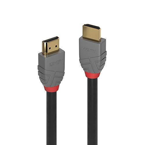LINDY 36962 1m HDMI High Speed HDMI Kabel, Anthra Line
