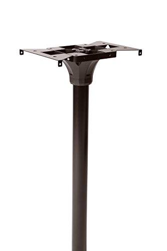 Architectural Mailboxes 7511RZ Coolidge In-Ground Steel Mailbox Post, One Size, Rubbed Bronze