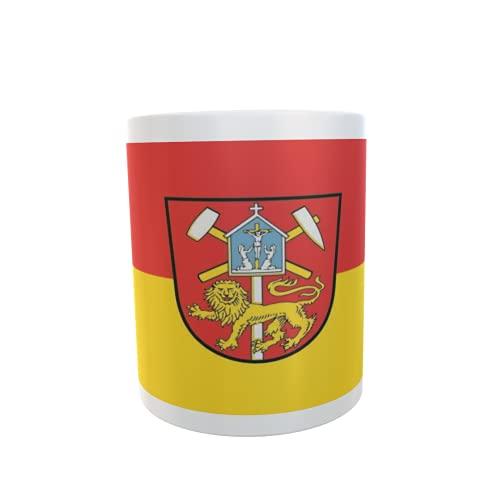 U24 Tasse Kaffeebecher Mug Cup Flagge Clausthal-Zellerfeld