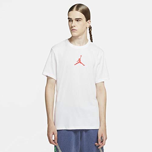 Nike M J Jumpman DFCT SS Crew Weiss - XXL