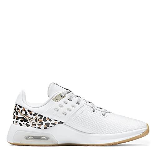 Nike Air Max Bella TR 4 Premium - Zapatillas de fitness para mujer, Mujer, VE35NIKE447, blanco negro marrón, 38 EU