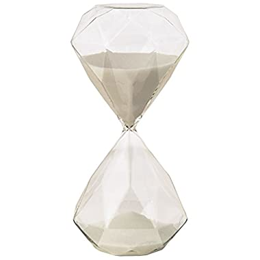 Heritage Glass Hourglass Decoration, Large
