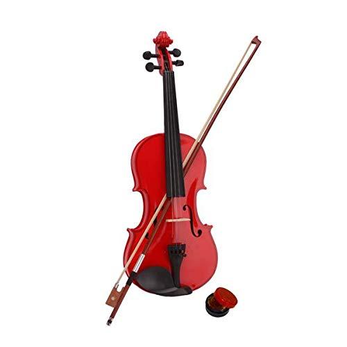 4/4 Acoustic Violin Acoustic viool Vintage glanzende schilderen Fiddle Wood