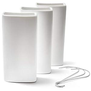 Ligano - Humidificador de agua para calefacción (cerámica, 3 unidades)