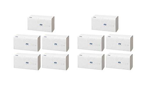 Tork Xpress weiche Multifold Papierhandtücher 120289 - H2 Advanced Falthandtücher für Handtuchspender - saugfähig und reißfest, 2-lagig, weiß - 10 x 180 Tücher