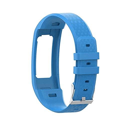 XXY L De La Banda De Reloj De Reemplazo De La Correa De La Muñeca De Silicona De L De Garmin VIVOFIT 1 / VIVOFIT 2 para Garmin VIVOFIT1 VIVOFIT2 Pulsera Cinturón (Color : 09 Dark Blue)