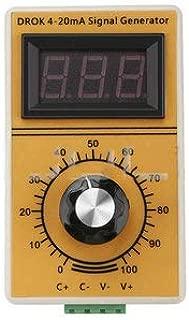 Portable Signal Generator 4~20mA Constant Current Analog Simulator Adjusting Module with Led Display for Inverter Control/PLC - Digital Multimeters & Oscilloscopes Signal Generator
