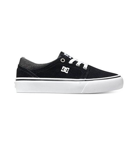 DC Apparel Jungen Sneaker, Grau - Black/Grey/White/gris, 13K
