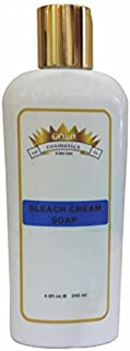 Gold Cosmetics & Skin Care BLEACH CREAM SOAP Face Cleansing Soap Facial Wash Cleanser Moisturizer