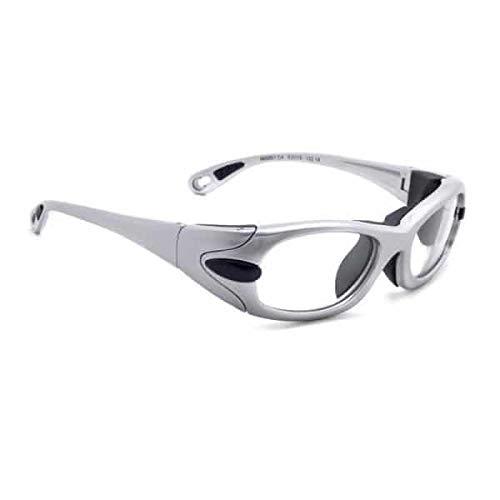Gafas de radiación modelo EGM para protección XRAY, gafas con plomo (gris)
