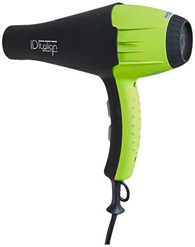 Italian Design IDEGTI2300AIRGB - Secador de pelo, color verde (8432729049657)