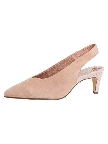 Tamaris 1-1-29502-24, Scarpe col Tacco con Cinturino Dietro la Caviglia Donna, Rosa Antico, 40 EU