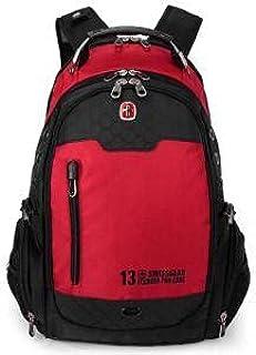 SwissBag Laptop 15.6 Waterproof Swiss Backpack Red